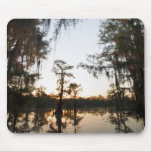 Caddo Lake at sunrise Mouse Pad