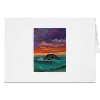 """""""Caddy at Sunset"""" by Thomas Finley Card"""