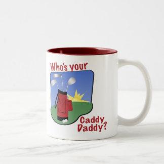 Caddy Daddy Golf Mug
