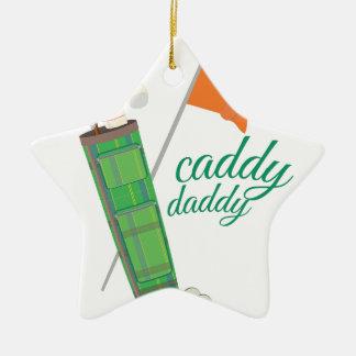 Caddy Daddy Christmas Tree Ornaments