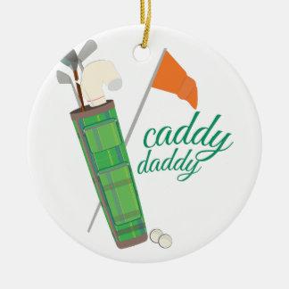 Caddy Daddy Christmas Ornaments
