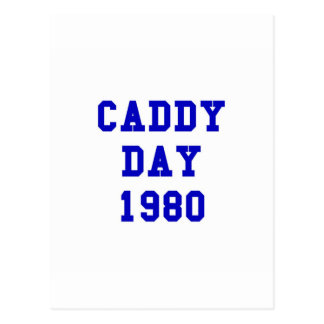 Caddy Day 1980 Postcard