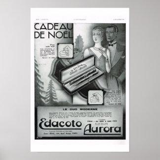 Cadeaux de Noel, Aurora Poster