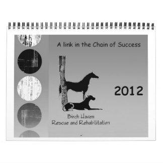 Cadena de BHRR 2012 del calendario del éxito