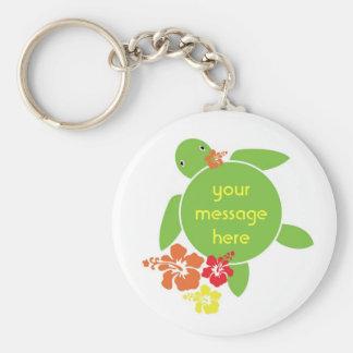 Cadena de encargo de la clave de mensaje de Honu d Llavero