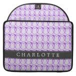 Cadena de encargo de Purple Heart Fundas Macbook Pro