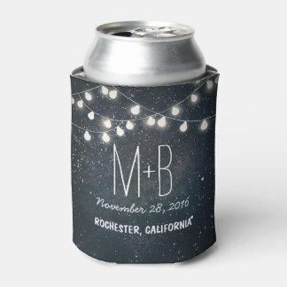 Cadena de estrellas de la noche de las luces enfriador de latas