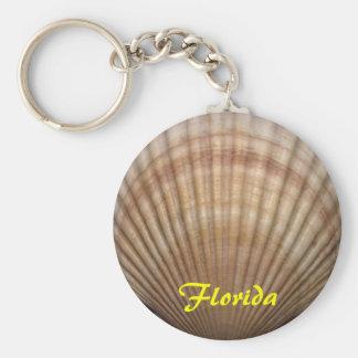 Cadena de la Florida Llavero Redondo Tipo Pin