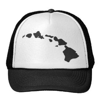 Cadena de la isla hawaiana gorra