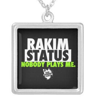 Cadena de la situación de Rakim de la edición Colgante Cuadrado