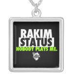 Cadena de la situación de Rakim de la edición limi Pendiente Personalizado