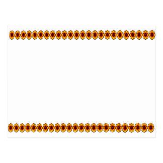 Cadena de margaritas 2 5x7 l los regalos de Zazzle Postal