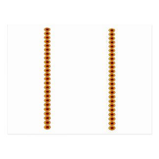 Cadena de margaritas 2 5x7 p los regalos de Zazzle Postal