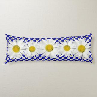 Cadena de margaritas blanca natural cojin cama