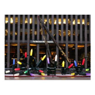 Cadena de New York City de luces Postal