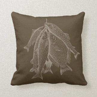 Cadena de pescados almohadas