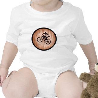 Cadena del desierto de la bici trajes de bebé