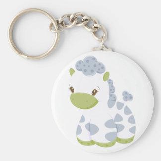Cadena-Etiqueta de la llave del muchacho de Babiez Llavero Redondo Tipo Pin