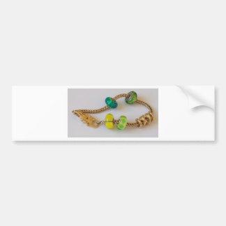 Cadena por la joyería de MelinaWorld Pegatina Para Auto