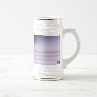 Cadena púrpura tazas de café