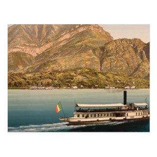 Cadenabbia, Lake Como, Italy Postcard