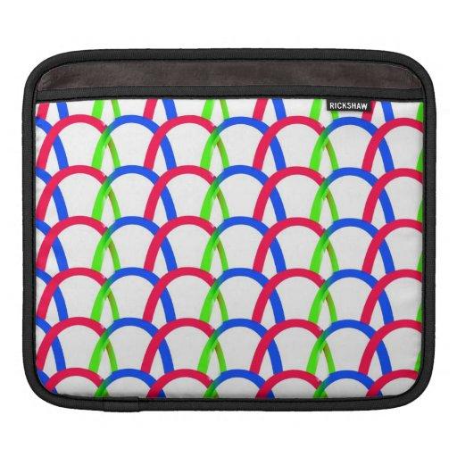 Cadenas coloridas funda para iPads