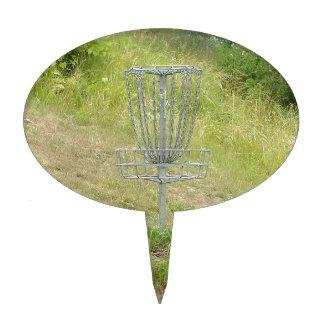 Cadenas de una cesta del golf del disco figuras de tarta