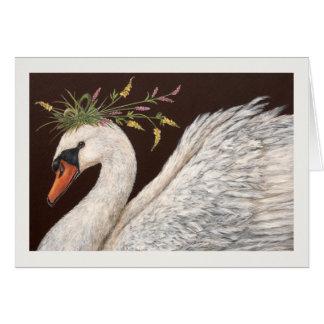 Cadence the swan card