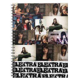 Caderno Elektra Mosley Libreta Espiral