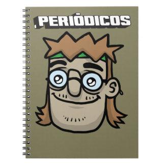 Caderno Periódicos - Talentoso Hippie Spiral Notebook