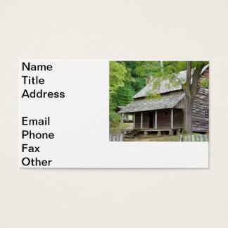 Cades Cabin Business Card