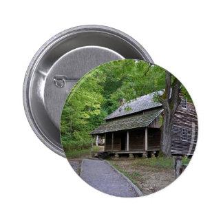 Cades Cove Cabin Button