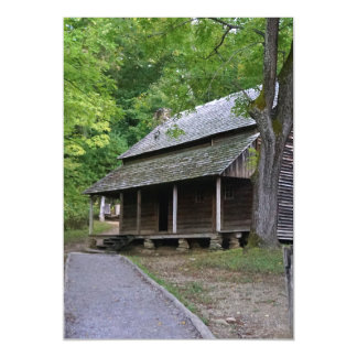 Cades Cove Cabin Magnetic Card