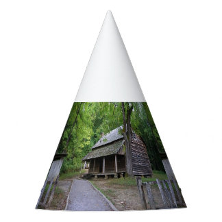 Cades Cove Cabin Party Hat