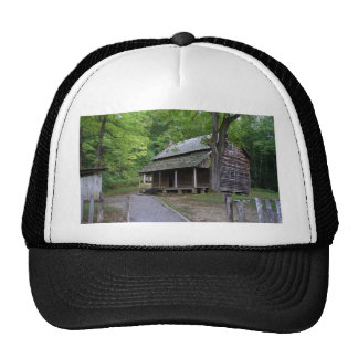 Cades Cove Cabin Trucker Hat