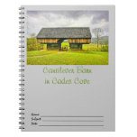 Cades Cove Cantilever Barn at the Tipton Place Notebooks