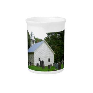 Cades Cove Chapel Beverage Pitcher
