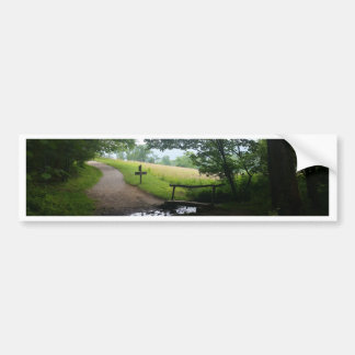 Cades Cove Great Smoky Mountains Bumper Sticker