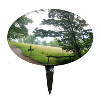 Cades Cove Great Smoky Mountains Cake Topper