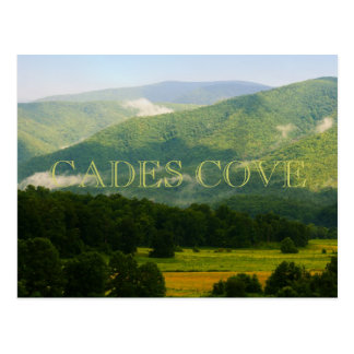 Cades Cove - Great Smoky Mountains Post Card