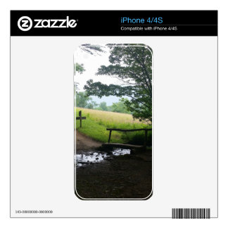 Cades Cove Great Smoky Mountains Skin For iPhone 4