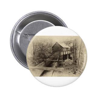 Cades Cove Grist Mill Button