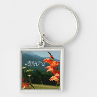 Cades Cove Iris Flowers - Great Smoky Mountains Key Chains