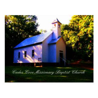 Cades Cove Missionary Baptist Church Postcard