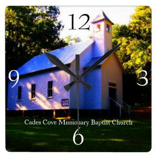 Cades Cove Missionary Baptist Church Wall Clock