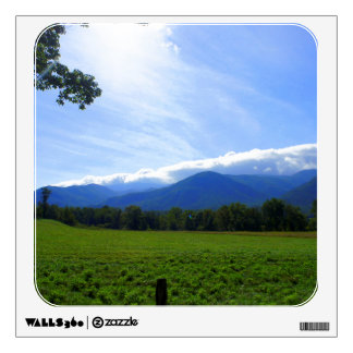 Cades Cove Morning Wall Decal