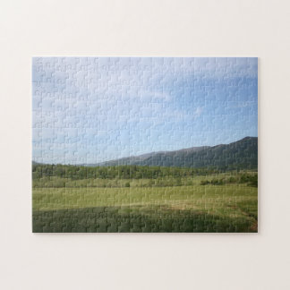 Cades Cove Scenery Jigsaw Puzzle