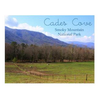 Cades Cove Smoky Mountains Postacrd Postcard