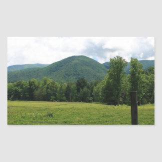 Cade's Cove Rectangle Stickers