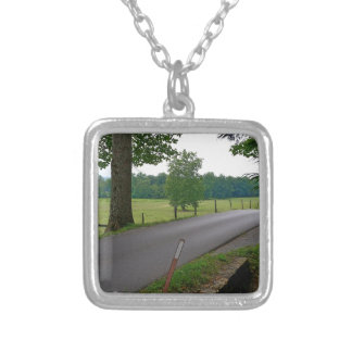 Cades Cove The Great Smoky Mountains Silver Plated Necklace